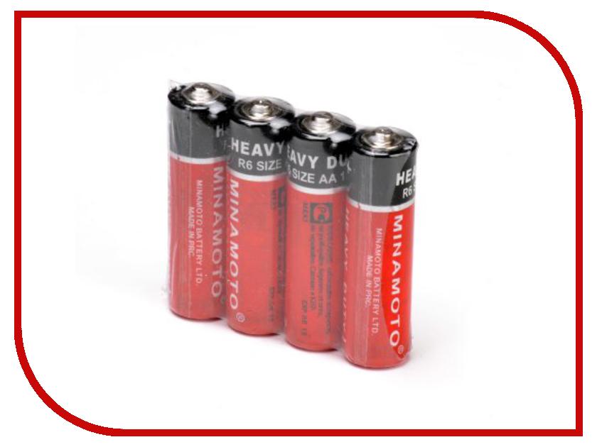 Батарейка AA - MINAMOTO 1.5V R6 SR4 (4 штуки)