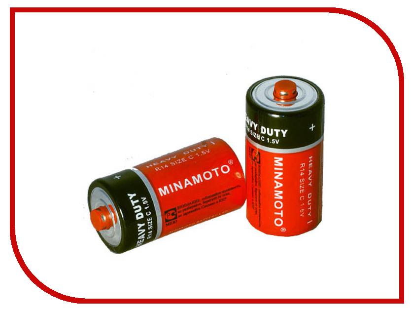Батарейка C - MINAMOTO 1.5V R14 SR2 (2 штуки) литой диск yamato minamoto no eriie 6x15 5x105 et39 56 6 r ray