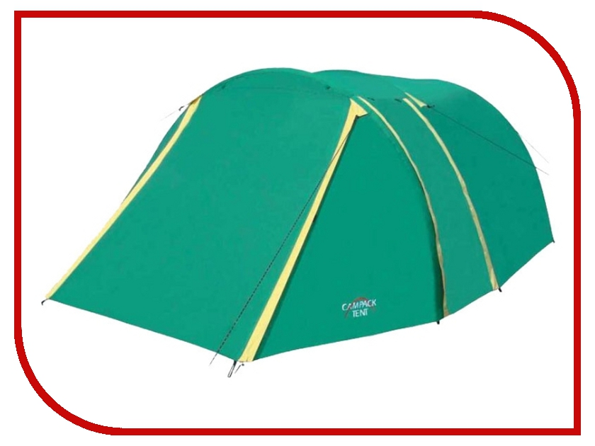 Палатка Campack-Tent Field Explorer 3 палатка туристическая campack tent field explorer 3 2013 серый голубой арт 0037637