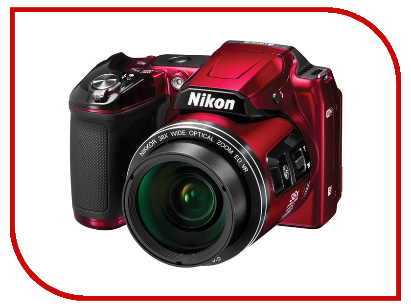 Фотоаппарат Nikon L840 Coolpix Red<br>
