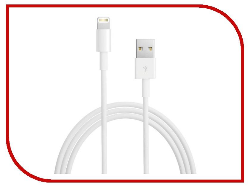Аксессуар iQFuture Lightning to USB 2.0 Cable for iPhone 5/iPod Touch 5th/iPod Nano 7th/iPad 4/iPad mini 94403 White