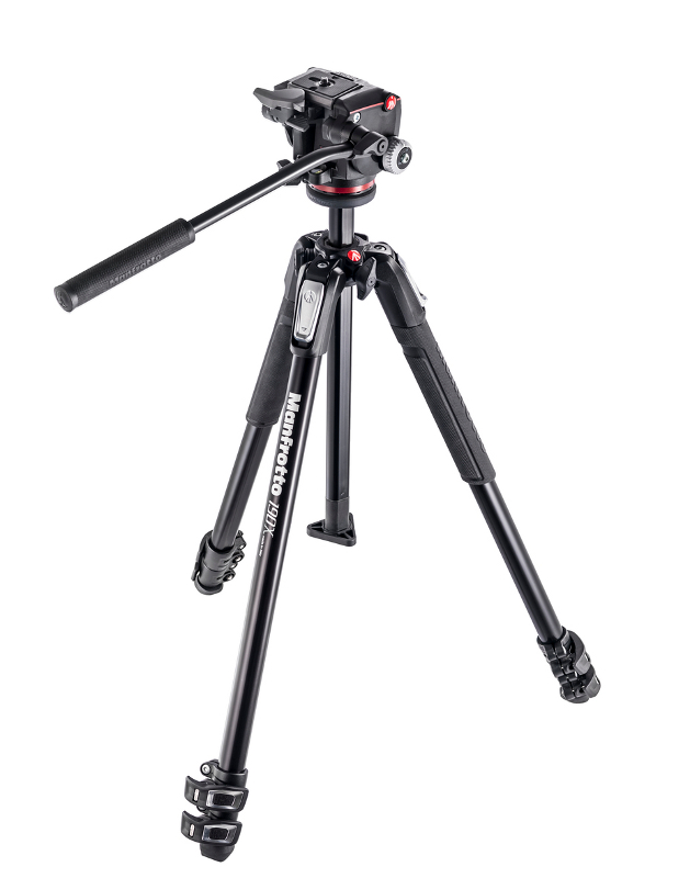 Штатив Manfrotto MK190X3-2W ALU 3-S KIT MHXPRO-2W