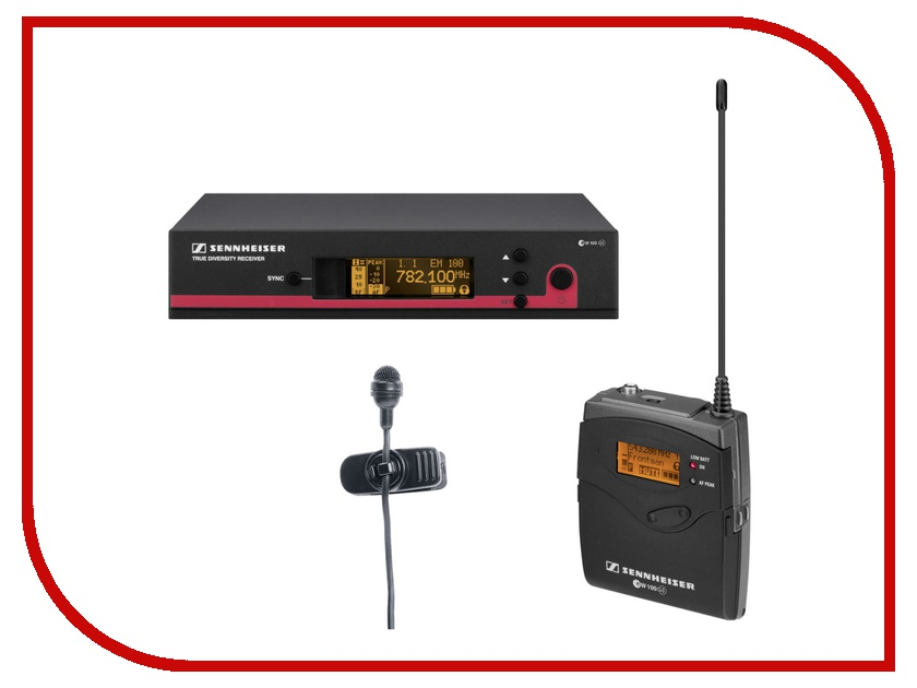 Радиомикрофон Sennheiser EW 122 G3-B-X<br>
