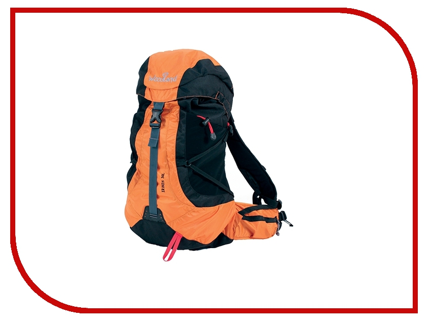 Рюкзак WoodLand Irbis 30 Orange-Black<br>