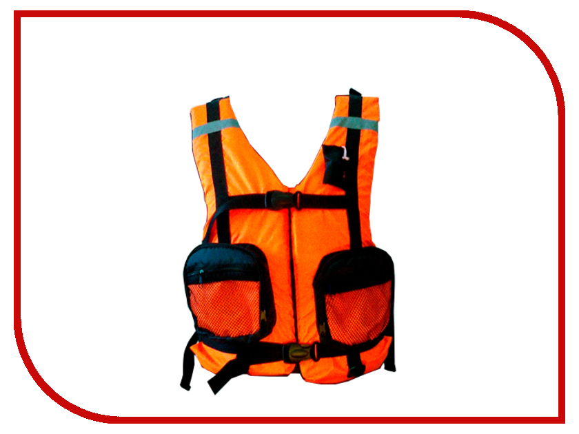 Спасательный жилет Таежник Бриз-1 Orange р.48-52 жилет спасательный плавсервис hunter цвет оранжевый размер 48 52 вес до 80 кг