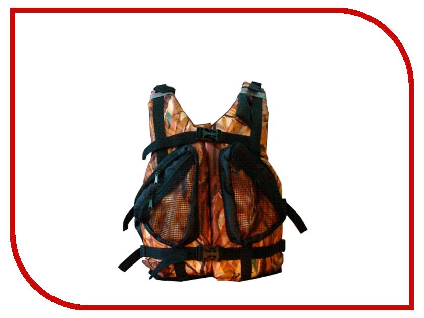 Спасательный жилет Таежник Бриз-2 Camo р.44-48 жилет спасательный плавсервис hunter цвет оранжевый размер 48 52 вес до 80 кг
