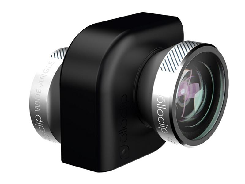 ��������� �������� Olloclip 4-in-1 OCEU-IPA-FW2M ��� iPad Air / mini Black-Silver