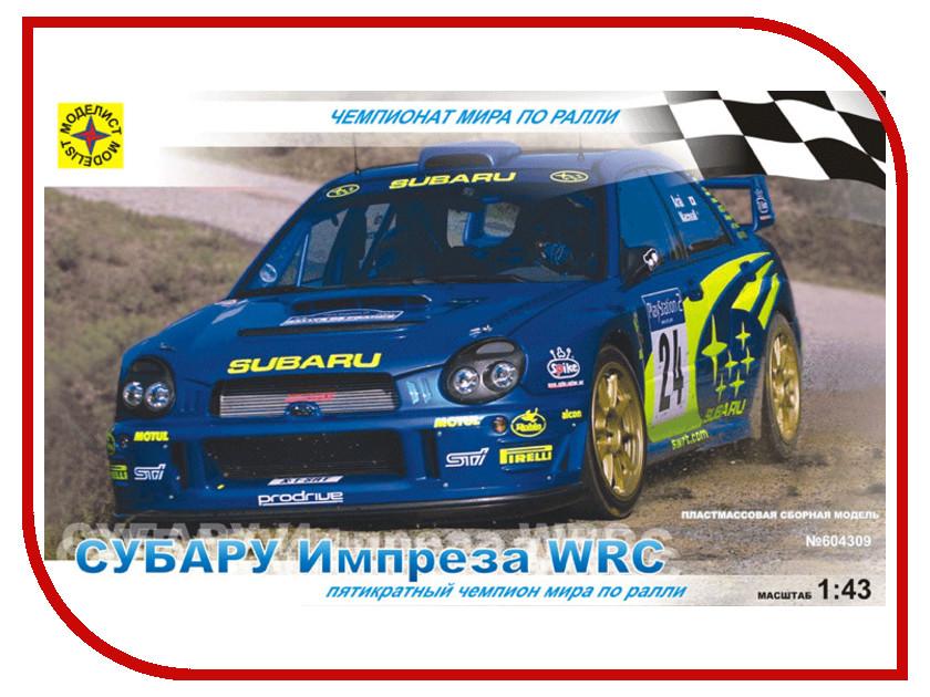 Игрушка Моделист Субару Импреза WRC 604309<br>