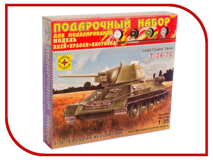 Игрушка Моделист Т-34-76 ПН303546<br>