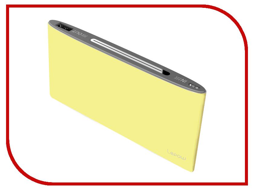 Аккумулятор Lepow P16 10000 Yellow 10000 mAh<br>