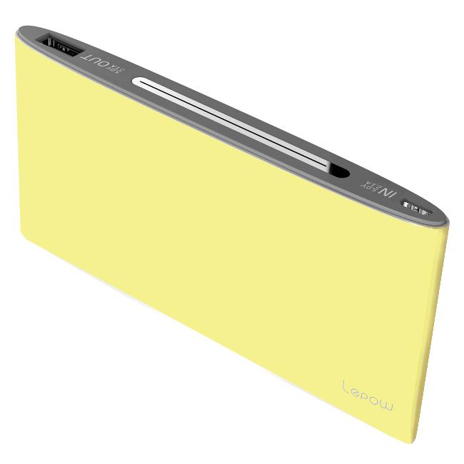 Аккумулятор Lepow P16 10000 Yellow 10000 mAh
