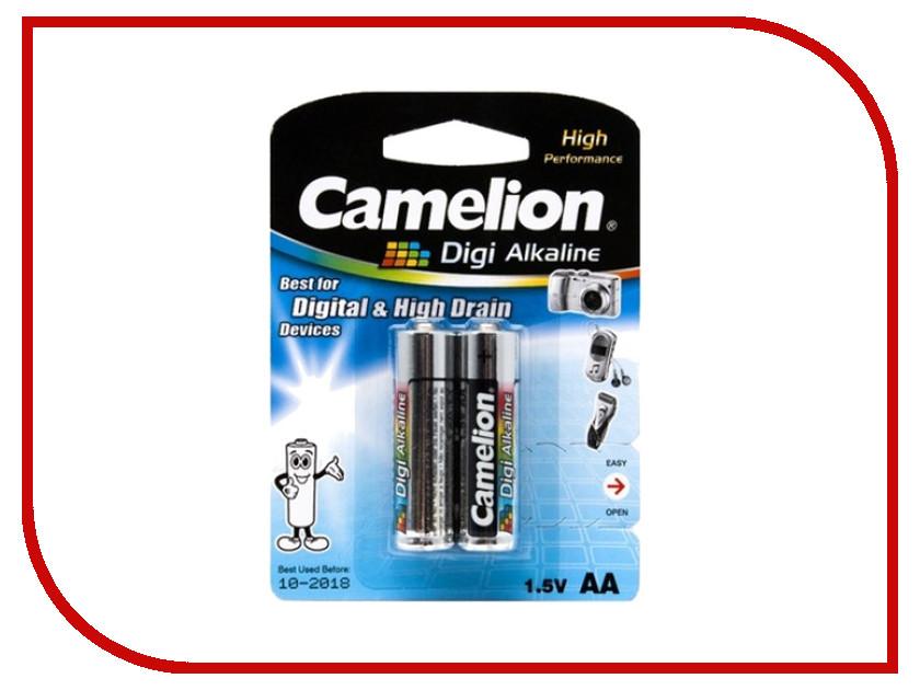 Батарейка AA - Camelion Digi Alkaline LR6-BP2DG (2 штуки)<br>