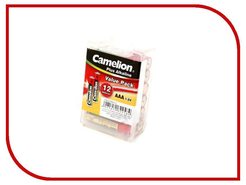 Батарейка АА - Camelion Alkaline Plus LR6-PBH12 (12 штук)<br>
