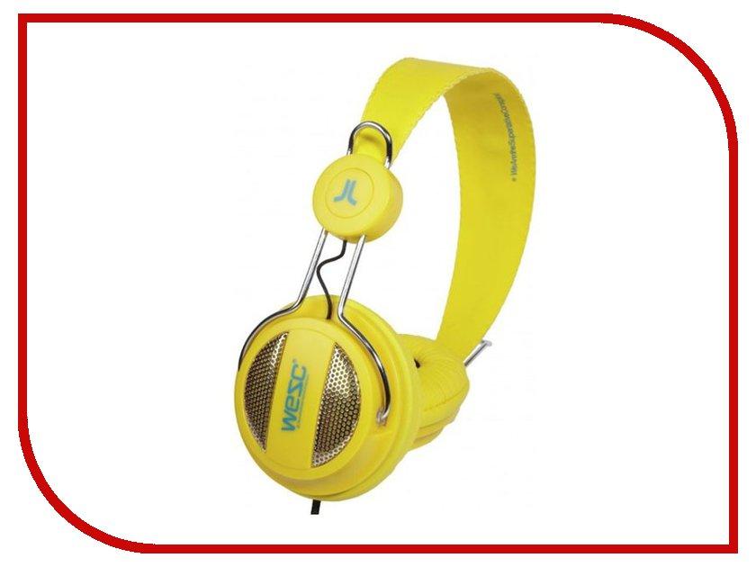 Наушники WeSC Oboe NS Vibrant Yellow<br>