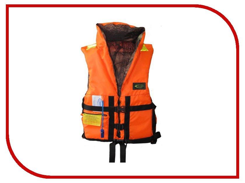Спасательный жилет Vostok ПР р.48-52 80кг Orange/лес - двусторонний жилет спасательный плавсервис hunter цвет оранжевый размер 48 52 вес до 80 кг