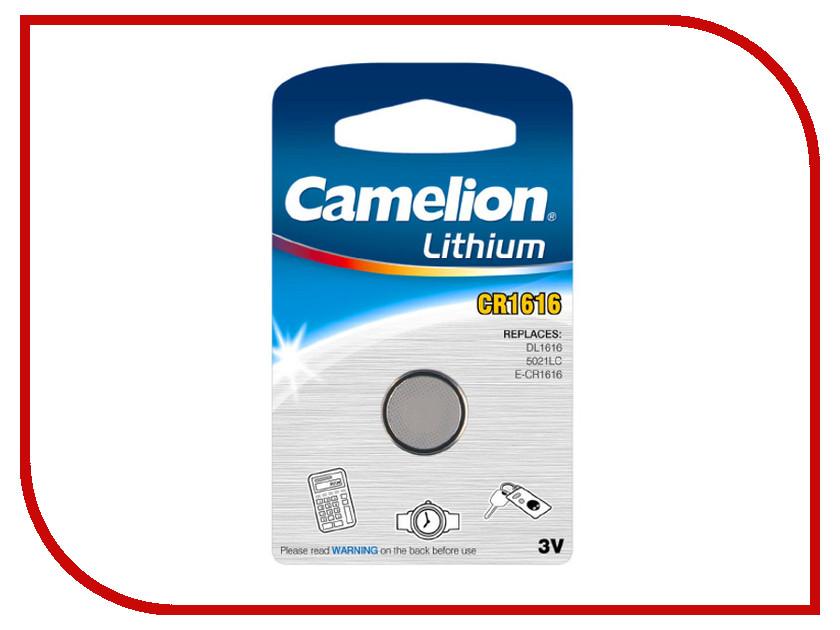 Батарейка CR1616 - Camelion CR1616-BP1 (1 штука)