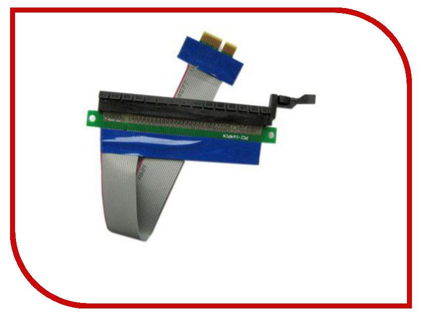 Аксессуар Переходник Espada PCI-E X1 to X16 EPCIEX1-16pw аксессуар espada pci e 1x to 4xpci e 16x riser card epcie4u