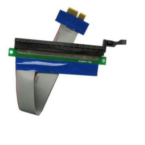 Аксессуар Переходник Espada PCI-E X1 to X16 EPCIEX1-16pw аксессуар переходник с материнской платы espada usb 2 0 idc 10pin female to 2x idc 10pin male e9pfto29pm