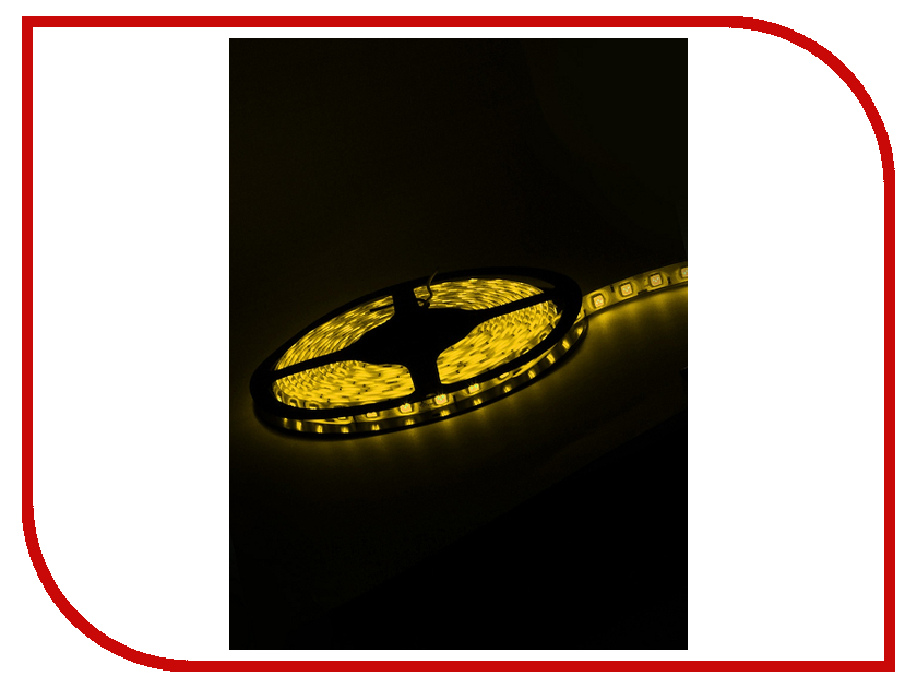 Светодиодная лента TDM-Electric SMD5050-60-54-12-144-YE IP54 Yellow SQ0331-0173