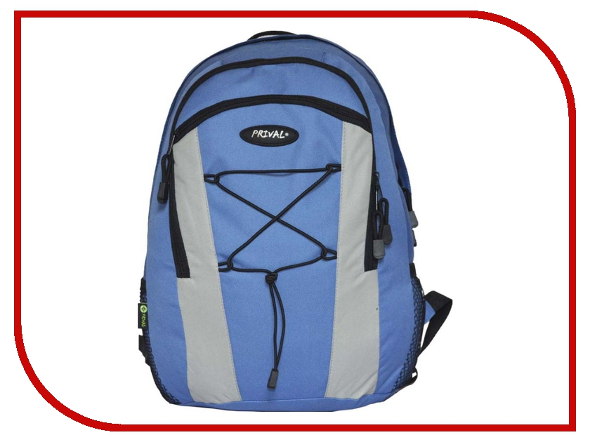 Рюкзак PRIVAL Городской 23 Blue рюкзак prival кузьмич 70 цифра