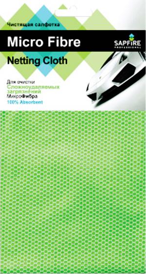Аксессуар Sapfire Netting cloth SFM-3002 - салфетка микрофибра<br>