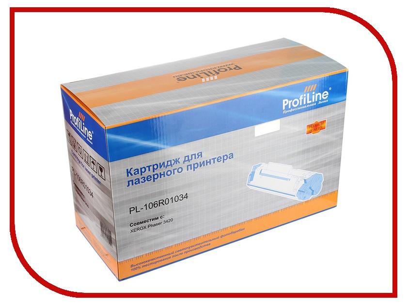 Картридж ProfiLine PL-106R01034 для Rank Xerox Phaser 3420/3425<br>
