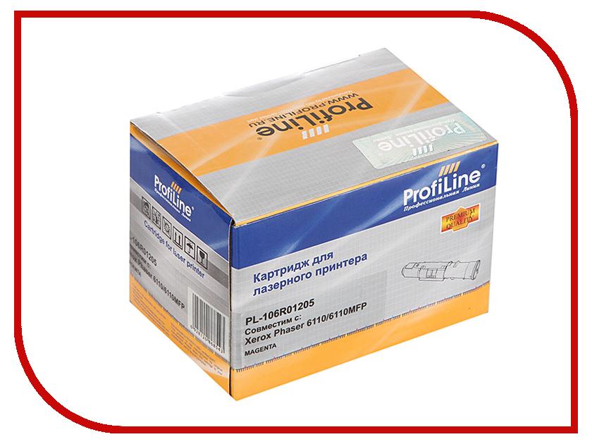 Картридж ProfiLine PL-106R01205 для Rank Xerox Phaser 6110/6110MFP Magenta<br>