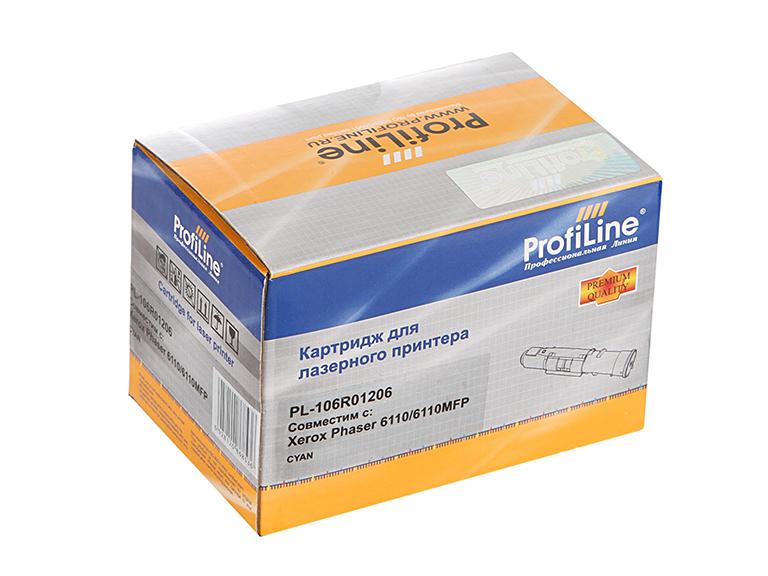 Аксессуар ProfiLine PL-106R01206 для Rank Xerox Phaser 6110/6110MFP Cyan