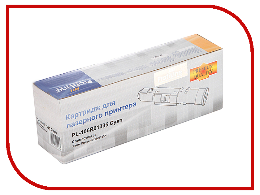 Картридж ProfiLine PL-106R01335 для Rank Xerox Phaser 6125/6125N Cyan