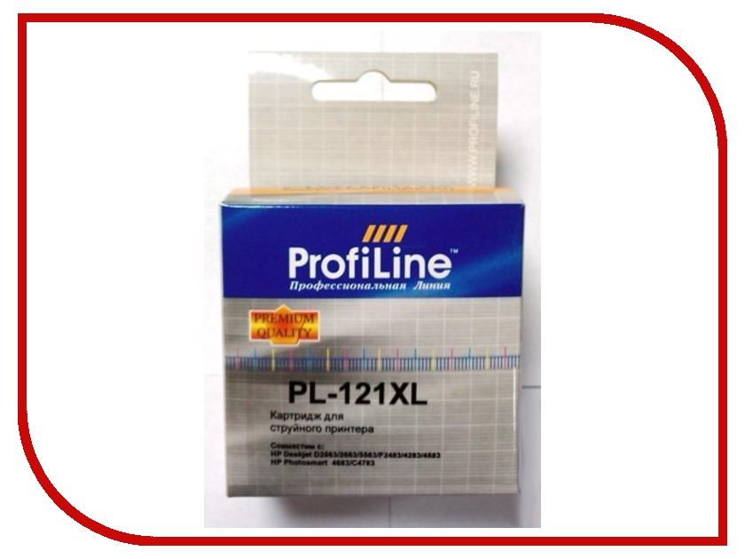 Картридж ProfiLine PL-CC644HE №121XL для HP Deskjet D1663/D2500/D2563/D2663/D5563/F2423/F2493/F4213/F4275/F4280/F4283/F4583/HP Photosmart C4683/C4783 Color 2pcs compatible ink cartridge hp121xl hp121 for deskjet f4210 f4213 f4240 f4272 f4275 f4280 f4283 f4288 f4500 f4580 f4583