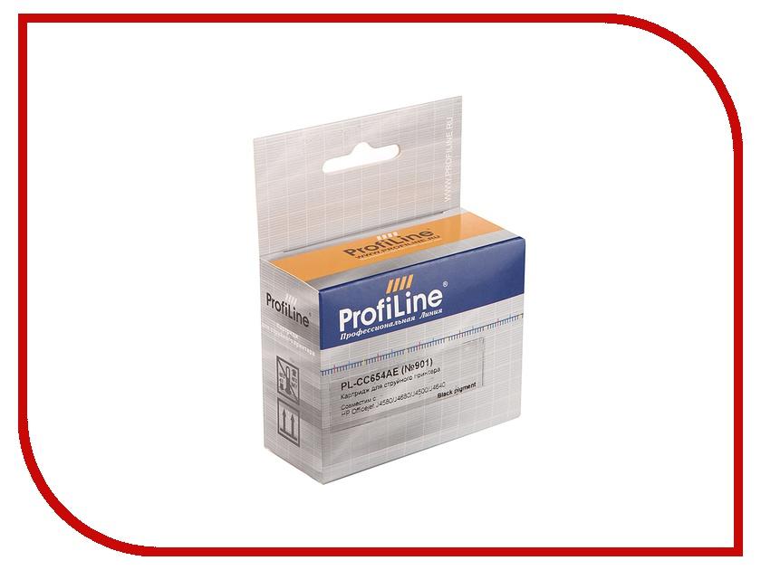 цена на Картридж ProfiLine PL-CC654AE / PL-CC653AE №901 для HP Officejet J4580/J4680/J4500/J4640 Black