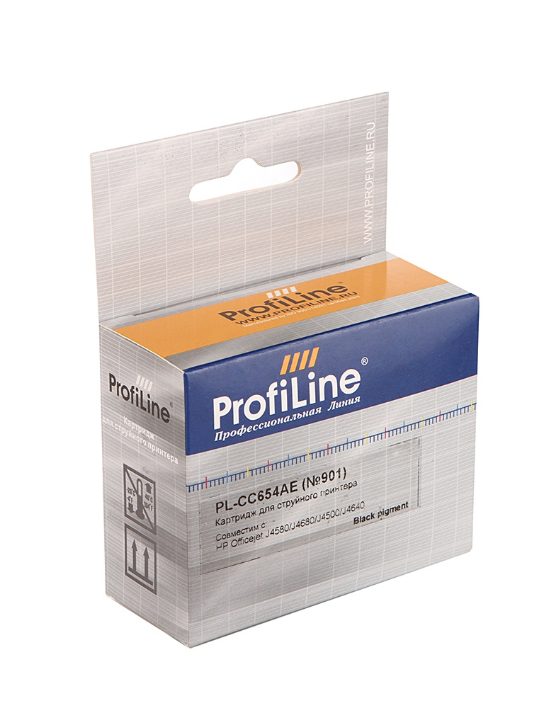 Картридж ProfiLine PL-CC654AE / PL-CC653AE №901 для HP Officejet J4580/J4680/J4500/J4640 Black<br>