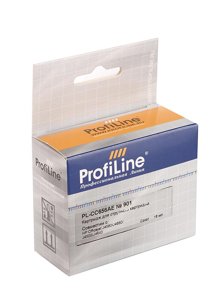 Аксессуар ProfiLine PL-CC656AE №901XL для HP Officejet J4580/J4680/J4500/J4640 Color