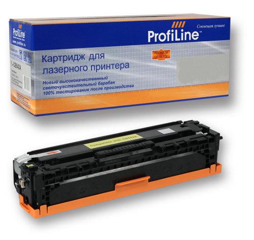 Картридж ProfiLine PL-TK-580Y для Kyocera FS-C5150DN/ECOSYS P6021cdn Yellow картридж для принтера profiline pl cz109ae