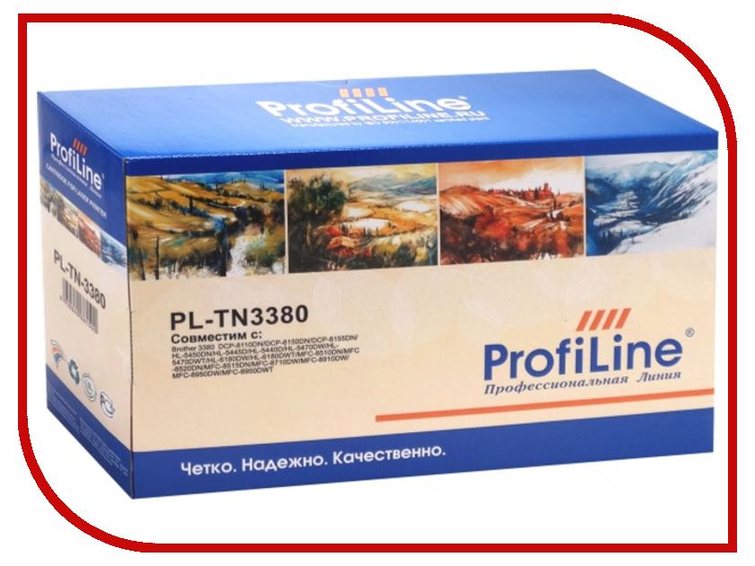 Картридж ProfiLine PL-TN-3380 для Brother DCP-8110DN/8150DN/8155DN/HL-5450DN/5445D/5440D/5470DW/5470DWT/6180DW/6180DWT/MFC-8510DN/8520<br>