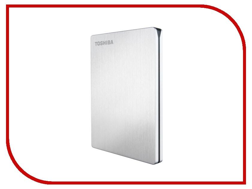 Жесткий диск Toshiba 1Tb StorE Slim Silver HDTD210ES3EA
