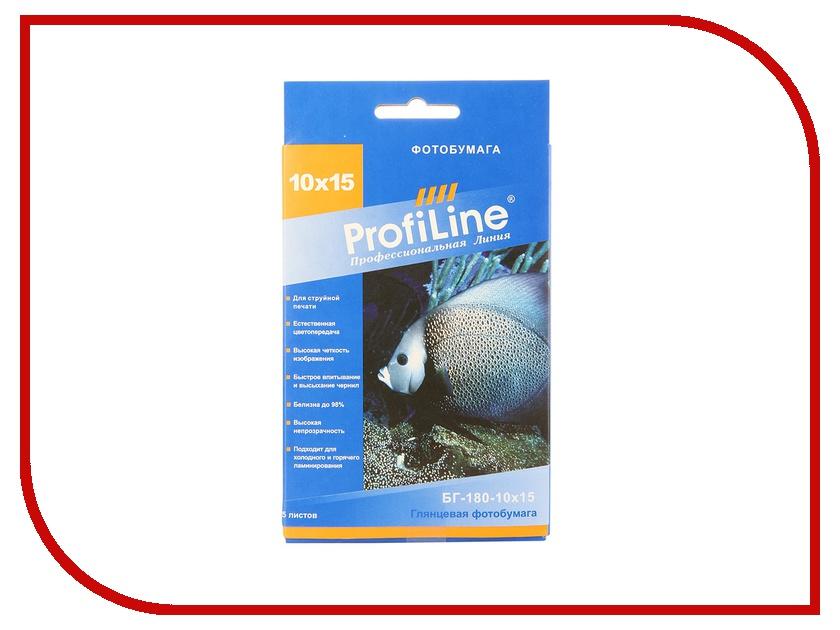 Фотобумага ProfiLine БГ-180-10х15-25 180g/m2 глянцевая 25 листов