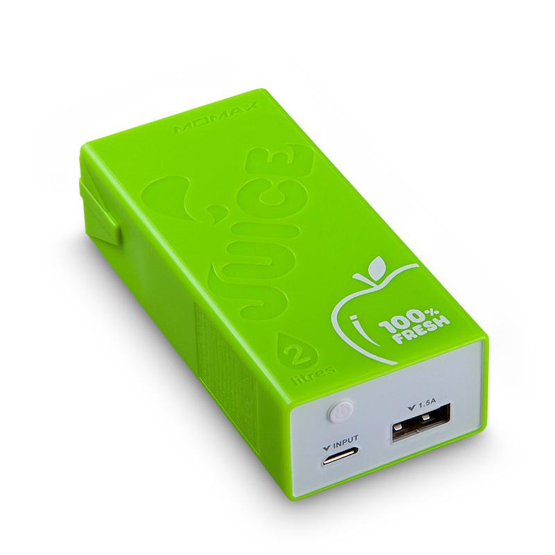 Аккумулятор MOMAX iPower Juice External 4400mAh Green
