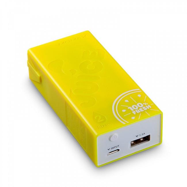 Аккумулятор MOMAX iPower Juice External 4400mAh Yellow