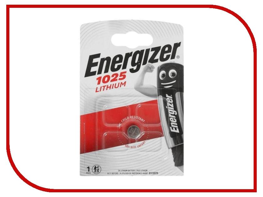 Батарейка CR1025 - Energizer Lithium 3V (1 штука)<br>
