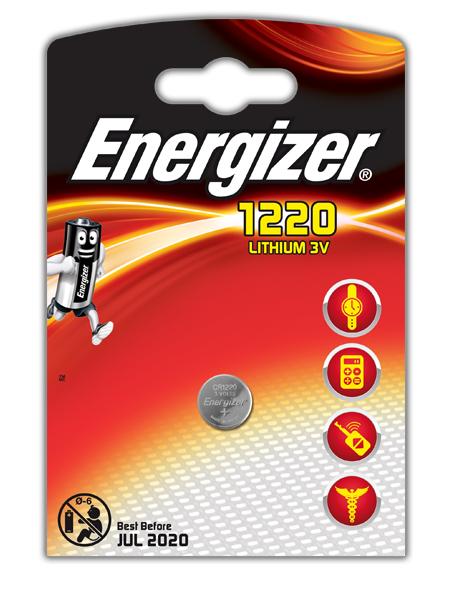 CR1220 - Energizer Lithium 3V (1 штука)