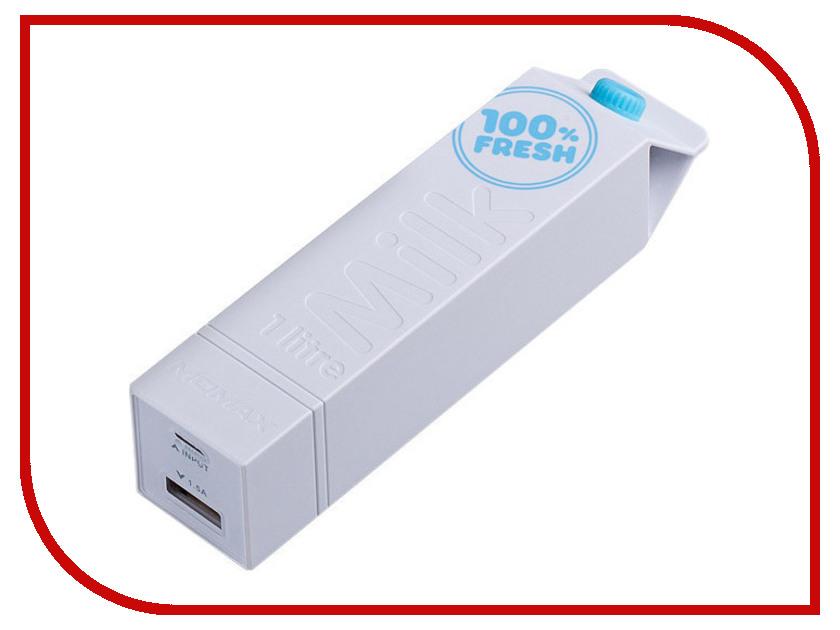 Аккумулятор MOMAX iPower Milk External 2600mAh White<br>
