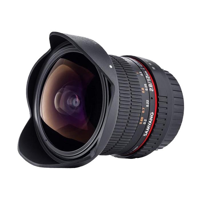 Объектив Samyang 12mm f/2.8 ED AS NCS Fish-Eye Micro 4/3