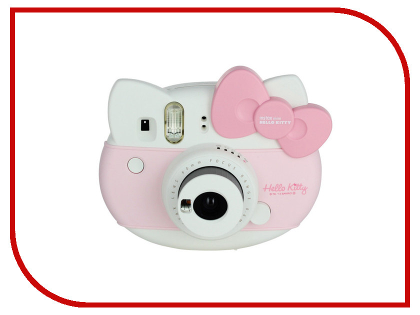 Фотоаппарат FujiFilm Instax Mini Hello Kitty + 10 Sheets Instant Film Pink fujifilm instax mini 70