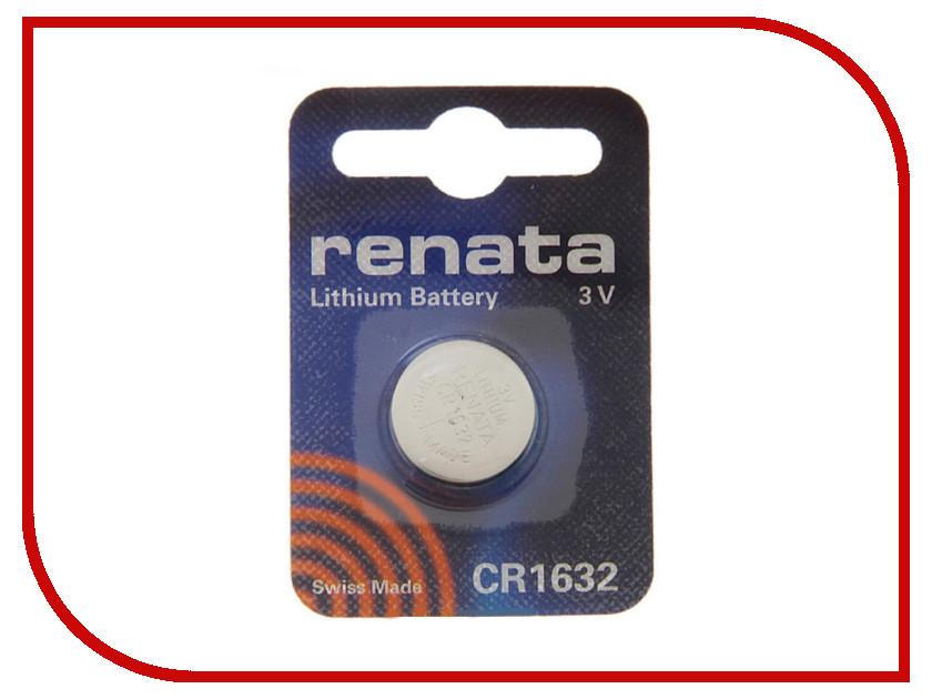 Батарейка CR1632 - Renata (1 штука)<br>