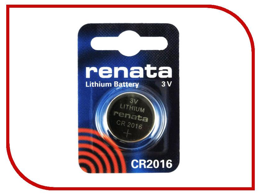 Батарейка CR2016 - Renata (1 штука)<br>