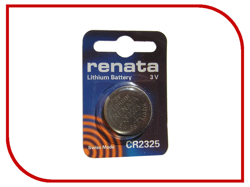 Батарейка CR2325 - Renata (1 штука)<br>