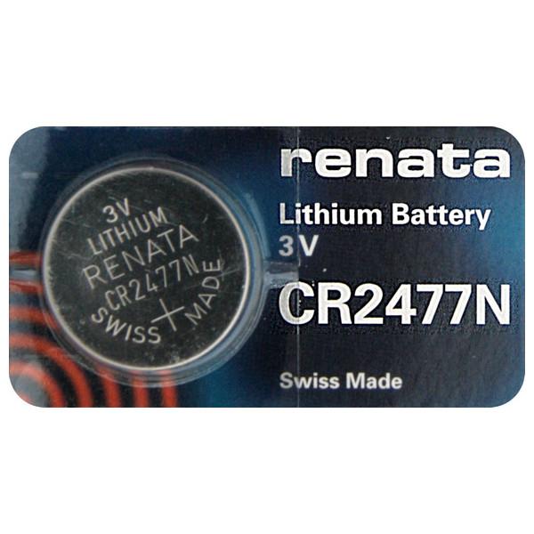 Батарейка CR2477N - Renata (1 штука)