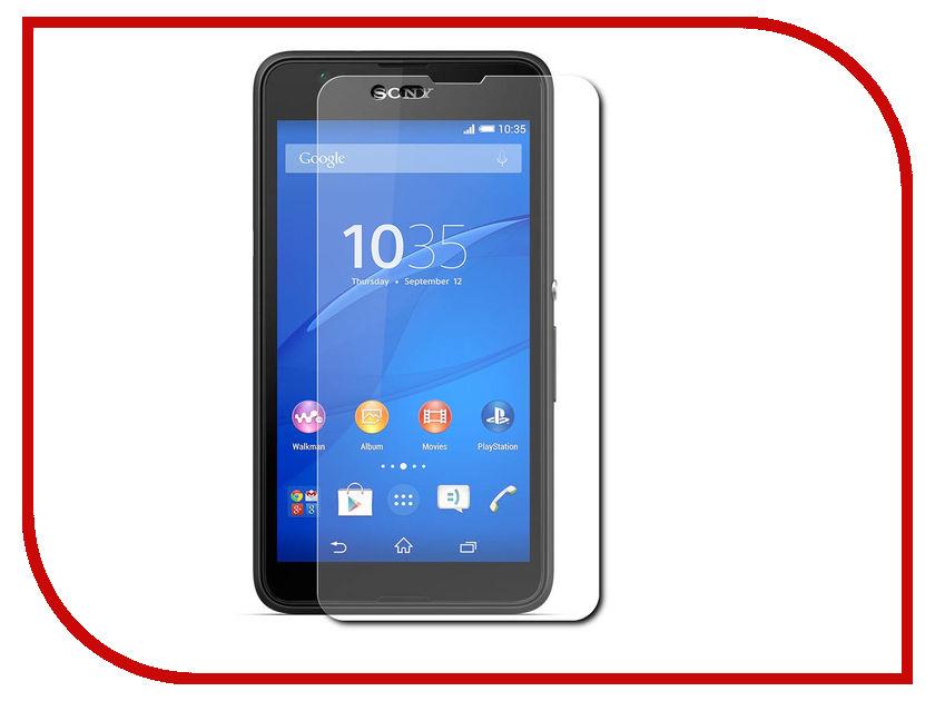 Аксессуар Защитная пленка Sony Xperia E4G LuxCase суперпрозрачная 81110 luxcase защитная пленка для htc desire 828 суперпрозрачная