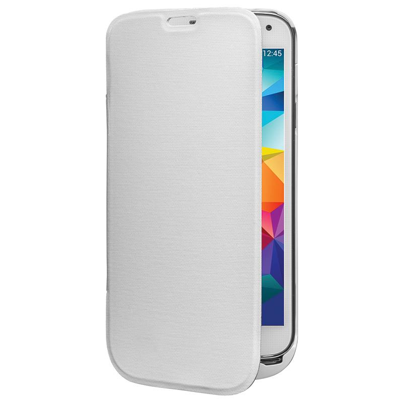 Аксессуар Чехол-аккумулятор Samsung Galaxy S5 InterStep 2800 mAh White IS-AK-PCS5FLPBK-000B201